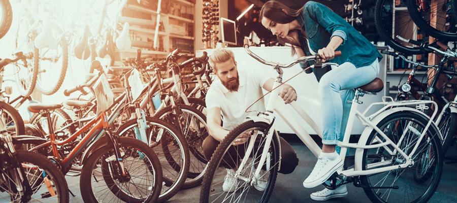 Achat de vélos